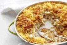 Comforting Casseroles / Yummy main dish casseroles  / by Katy K