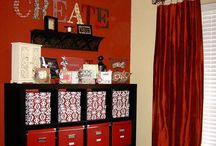 Crafty Rooms / by Marcy Lundberg