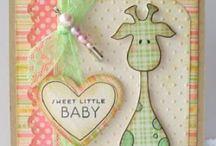 DIY Baby cards / by Marcy Lundberg