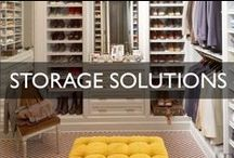 Storage Inspiration... / Closets, shelving, etc....all ideas to maximize spaces for better storage solutions.