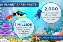 Planet Earth Art / Planet Earth is our April theme of the month!