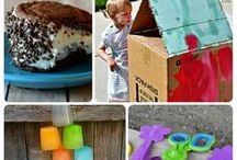 summer fun / Activities for all ages that don't involve screen time!
