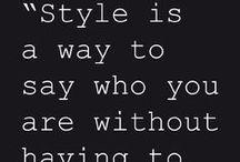 My Fashion Style / by Anna Burger