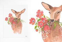 illustration.  / by Viviane Luise