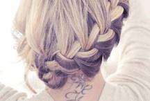 Bridal Hair / Engagement hair & bridal hair / by Engagement Invites ♥