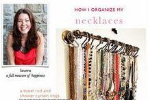 Closet / closet décor and organization