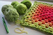 Crochet and knitting / by Kirsten N