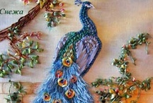 EMBROIDERY - RIBBON / by Janice Daniell