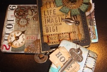 ATCs AND TAGS / by Janice Daniell