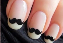 Nails  and beauty / Cute haircuts, hairdos and beautiful nails. I'm just a girl :P / by Argentina