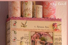 PRETTY BOXES / by Janice Daniell