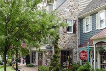 Bucks County & Philadelphia Scenes / Southeastern area of Pennsylvania / by Linda Altland