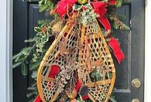 Christmas Doors & Homestead Doors (homesteaddoors) on Pinterest