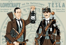 All Geekness Great and Small - Science, History & Literary Greats / by Kiddý Ámundadóttir