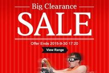 Clearance Bin / Follow clearance bin from CrazySales to get a big savings on home & garden, pet supplies, appliances, furnitures and more! http://www.crazysales.com.au/clearance