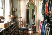 In the closet.. / Closets that can't be overlooked.  What you'll find: closets, master bedrooms & decorating ideas. / by DwellStudio