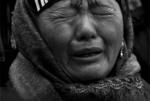 """Free Tibet / """"There is a saying in Tibetan, 'Tragedy should be utilized as a source of strength.' No matter what sort of difficulties, how painful experience is, if we lose our hope, that's our real disaster."""" ― Dalai Lama XIV"""