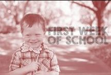First Week of School / creative ideas to make your first week of a school a SUCCESS / by Katie Jones