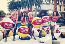 POM Juice Blends Pool Party / POM Wonderful Sets GUINNESS WORLD RECORDS® title at Las Vegas Pool Party in celebration of their new juice blends, Coconut, Hula and Mango.