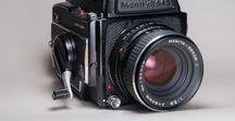 My analog photo gear / Macchine fotografiche a pellicola e ottiche che possiedo o che ho posseduto. Analog photo gear I own or owned.