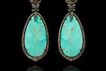 Turquoise Jewellery / A celebration of turquoise jewellery. Beautiful pieces featuring this alluring gemstone.