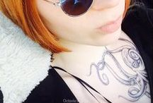 Octavia's Temporary Tattoos / My own tattoo inspired art especially for Temporary Tattoos, Print and Tattoo Flash ;)