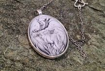 Octavia's Animal Jewelry and Art / A selection of my animal art.