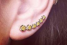 Ear Cuffs &  Ear Pins / A selection of ear cuffs by Annoushka.