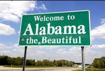 ALABAMA.... THINGS TO SEE AND DO / by Janice Daniell
