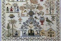 EMBROIDERY - SAMPLERS / by Janice Daniell