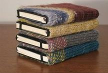 BOOK COVERS AND BOOK BAGS / by Janice Daniell