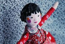 CRAFTING - PAPER CLAY & MACHE / by Janice Daniell