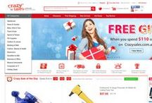 CrazySales Homepage To Open / We're different every day in the eye of Crazy fans! Easily and fast view CrazySales homepage via Pinterest.