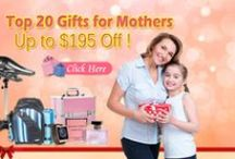 Mother's Day Gift Ideas / Mother's day is coming soon! Take a look at CrazySales mother's day gift ideas board in order to give your mother/step-mother/grandmother/great-grandmother a meaningful gift to remember!