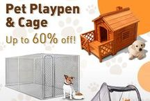 Comfortable Pet Supplies / We only offer comfortable pet supplies at http://www.crazysales.com.au/buy-pet-supplies for your lovely pets.