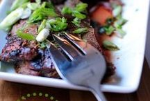 Food Porn: Beef / Great looking beef recipes | Blogger & SAHM to 3 little girls under 6 | @jayjawkmommy | Web: jayhawkmommy.com