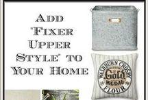 """Fixer Upper"" Vibe / home décor with Fixer Upper vibe"