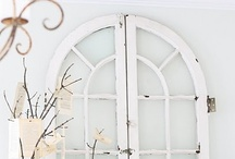 Obsessed With Old Windows / by Sarah @ Cozy.Cottage.Cute.
