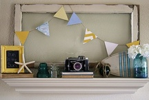 Shelf Vignettes / by Sarah @ Cozy.Cottage.Cute.
