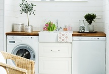 Laundry Rooms / by Sarah @ Cozy.Cottage.Cute.