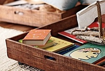 Storage and Organization / by Sarah @ Cozy.Cottage.Cute.