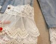 Upcycling (an inspiration story) / I love turning something old into something new!  T-shirts, sweaters, dresses, pants ~ I'm up for the challenge!