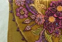 My Silk Ribbon & Beads / Beautiful embroidery of any kind has been a passion of mine.  That has lead me to teach Silk Ribbon Embroidery, Bead Embroidery and Crazy Quilt Embellishment from my home in San Diego as well as other locations.  #annedaviesdesigns / by Anne Davies