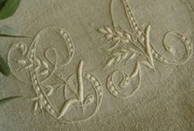 Stitched Monograms / by Anne Davies