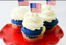 Patriotic Recipes & Ideas / Memorial Day recipes, barbecue ideas, cool cocktails and fun desserts to kick off summer!