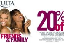 ULTA 20% OFF Coupons / Save over 20% off ULTA sale items and specials. Plus use ULTA coupon codes or printable coupons to save $3.50 off $10 or 20% off online or in-store purchases of cosmetics, beauty products, skincare, hair care, nail products, styling tools, beauty and more