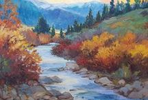 Colorado Landscape Paintings by Laura Reilly / Painting beautiful locations throughout Colorado
