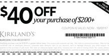 Kirklands Coupons / Get latest Kirklands coupons, printable coupons and promotions here.