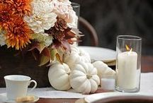 Fall Decor Ideas / Tons of ideas and inspiration photos to get your home ready for fall!