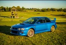 """Vintage Subaru / The Subaru from """"then"""" – many miles and many memories later."""